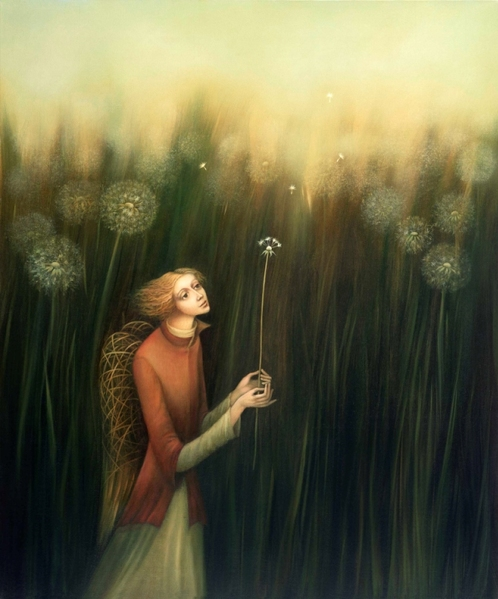 '' DREAMER WITH DANDELION